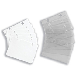 Business Card Sleeves Ref BC50 [Pack 50]